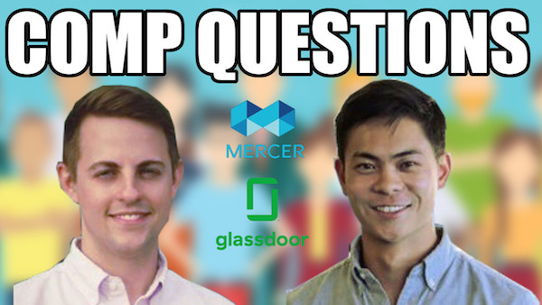 Patrick and Andrew, Glassdoor + Mercer